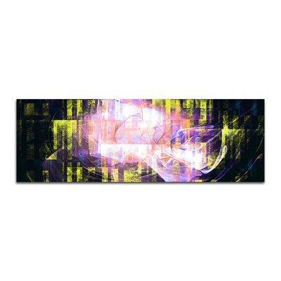 PaulSinusArt Enigma Panorama Abstrakt 211 Painting Print on Canvas