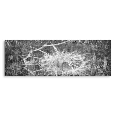 PaulSinusArt Enigma Panorama Abstrakt 1288 Painting Print on Canvas