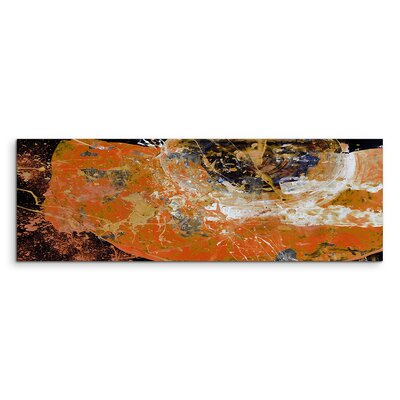PaulSinusArt Enigma Panorama Abstrakt 632 Painting Print on Canvas