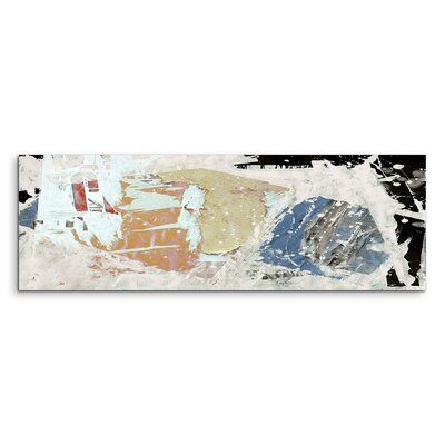 PaulSinusArt Enigma Panorama Abstrakt 636 Painting Print on Canvas