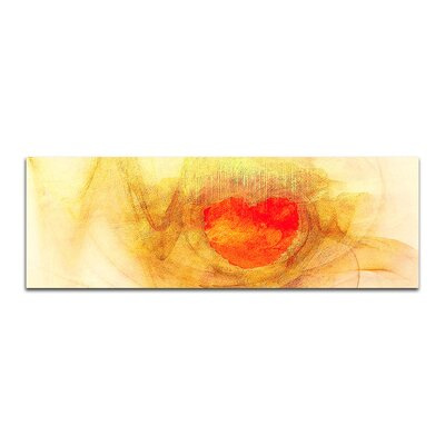 PaulSinusArt Enigma Panorama Abstrakt 067 Painting Print on Canvas