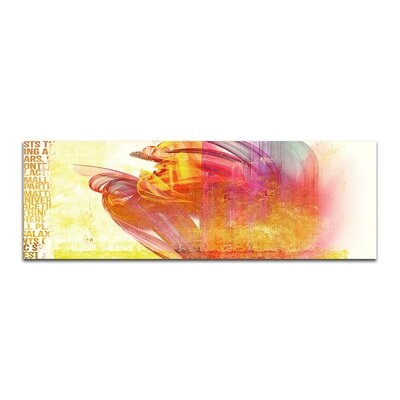 PaulSinusArt Enigma Panorama Abstrakt 263 Painting Print on Canvas