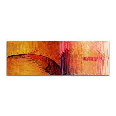 PaulSinusArt Enigma Panorama Abstrakt 264 Painting Print on Canvas