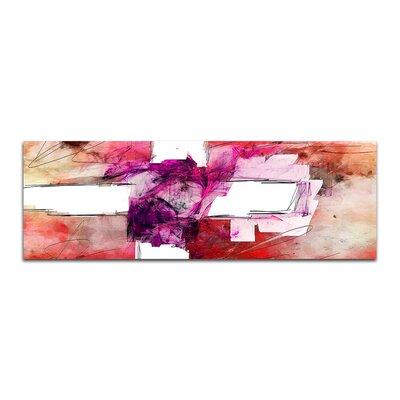 PaulSinusArt Enigma Panorama Abstrakt 267 Painting Print on Canvas