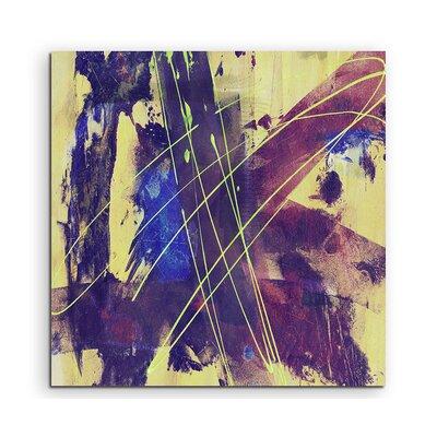 PaulSinusArt Enigma Abstrakt 861 Painting Print on Canvas