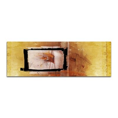 PaulSinusArt Enigma Panorama Abstrakt 095 Painting Print on Canvas