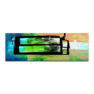 PaulSinusArt Enigma Panorama Abstrakt 096 Painting Print on Canvas