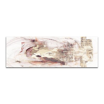 PaulSinusArt Enigma Panorama Abstrakt 379 Painting Print on Canvas