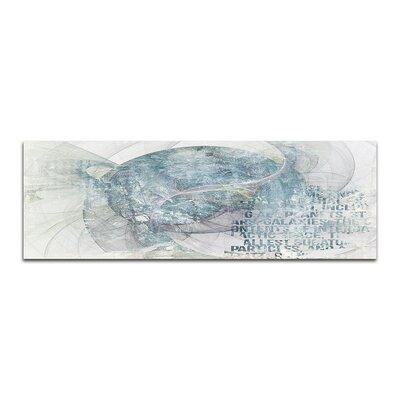PaulSinusArt Enigma Panorama Abstrakt 380 Painting Print on Canvas