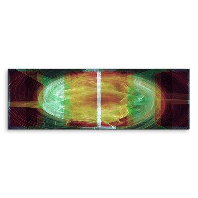 PaulSinusArt Enigma Panorama Abstrakt 1292 Painting Print on Canvas