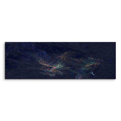 PaulSinusArt Enigma Panorama Abstrakt 1079 Painting Print on Canvas