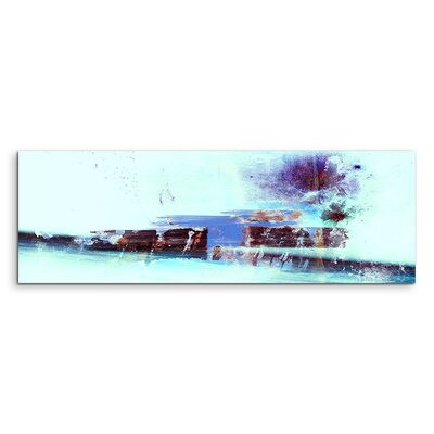 PaulSinusArt Enigma Panorama Abstrakt 814 Painting Print on Canvas