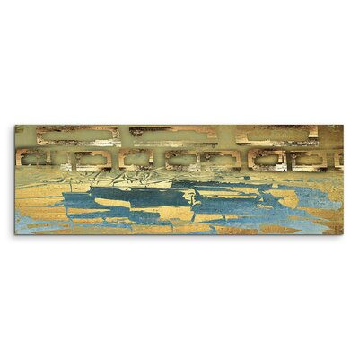 PaulSinusArt Enigma Panorama Abstrakt 816 Painting Print on Canvas