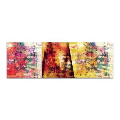 PaulSinusArt Enigma Panorama Abstrakt 268 Painting Print on Canvas