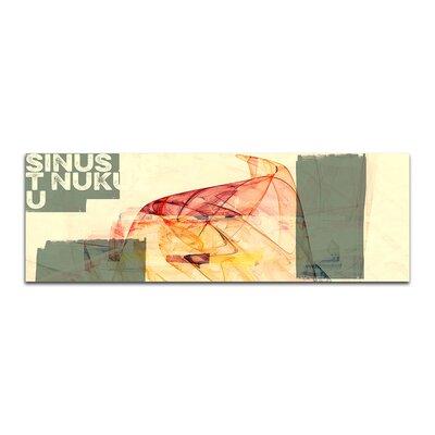 PaulSinusArt Enigma Panorama Abstrakt 103 Painting Print on Canvas