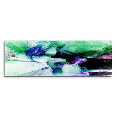 PaulSinusArt Enigma Panorama Abstrakt 1080 Painting Print on Canvas