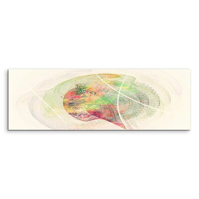 PaulSinusArt Enigma Panorama Abstrakt 1306 Painting Print on Canvas