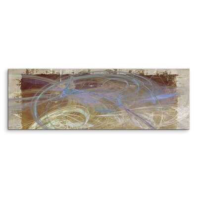 PaulSinusArt Enigma Panorama Abstrakt 1082 Painting Print on Canvas