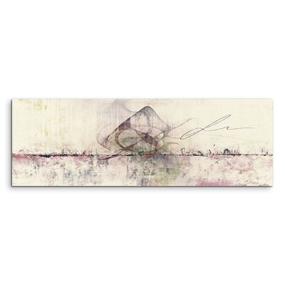 PaulSinusArt Enigma Panorama Abstrakt 1308 Painting Print on Canvas