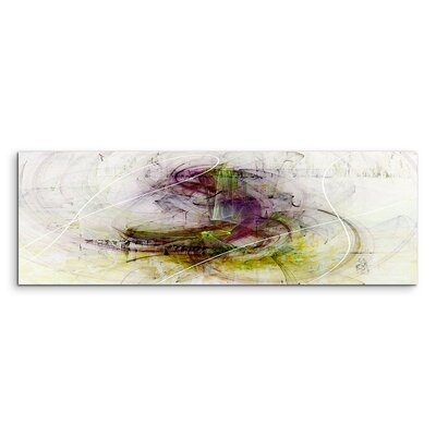 PaulSinusArt Enigma Panorama Abstrakt 1309 Painting Print on Canvas