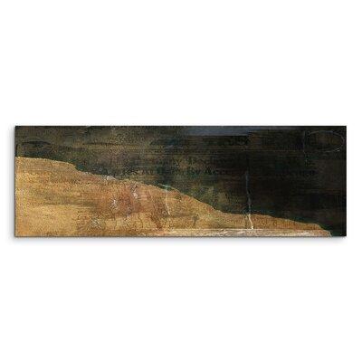 PaulSinusArt Enigma Panorama Abstrakt 818 Painting Print on Canvas