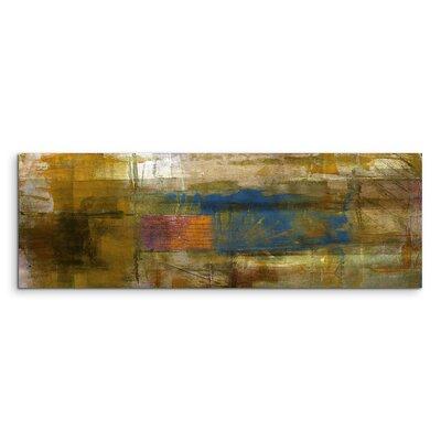 PaulSinusArt Enigma Panorama Abstrakt 820 Painting Print on Canvas