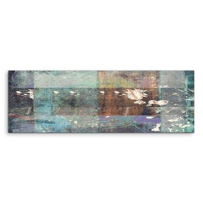 PaulSinusArt Enigma Panorama Abstrakt 822 Painting Print on Canvas