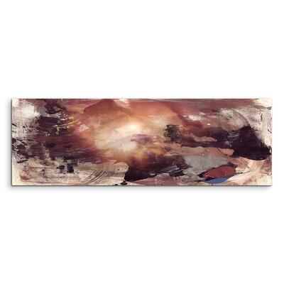 PaulSinusArt Enigma Panorama Abstrakt 824 Painting Print on Canvas
