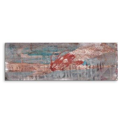 PaulSinusArt Enigma Panorama Abstrakt 825 Painting Print on Canvas