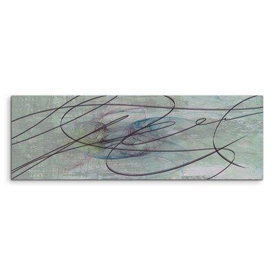 PaulSinusArt Enigma Panorama Abstrakt 1086 Painting Print on Canvas