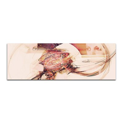 PaulSinusArt Enigma Panorama Abstrakt 279 Painting Print on Canvas