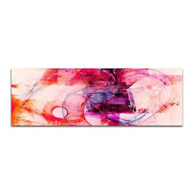 PaulSinusArt Enigma Panorama Abstrakt 284 Painting Print on Canvas