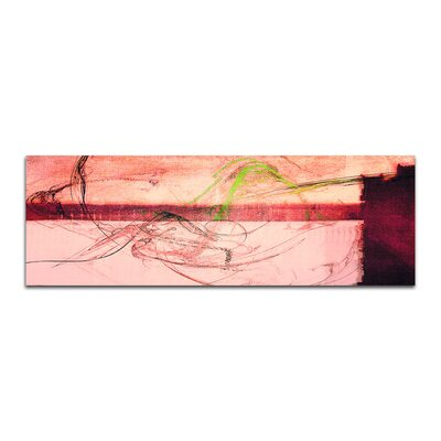 PaulSinusArt Enigma Panorama Abstrakt 453 Painting Print on Canvas
