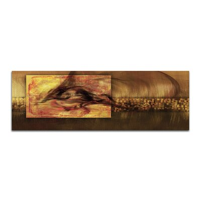 PaulSinusArt Enigma Panorama Abstrakt 455 Painting Print on Canvas