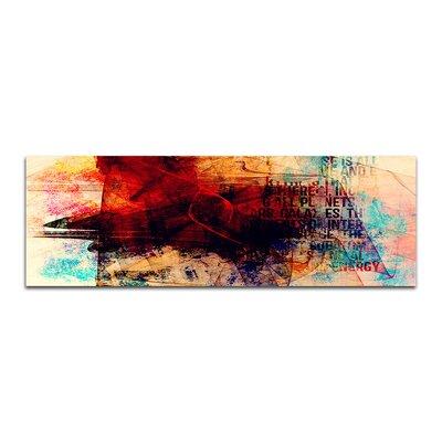 PaulSinusArt Enigma Panorama Abstrakt 108 Painting Print on Canvas