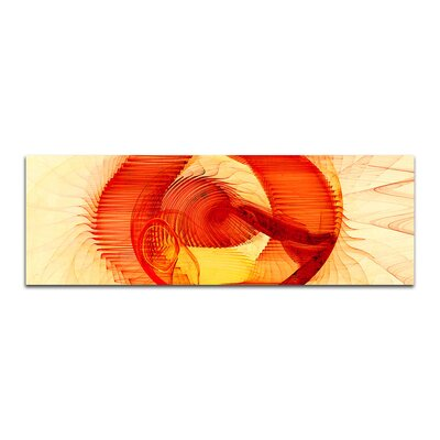 PaulSinusArt Enigma Panorama Abstrakt 109 Painting Print on Canvas