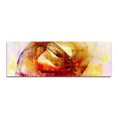 PaulSinusArt Enigma Panorama Abstrakt 113 Painting Print on Canvas