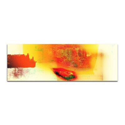 PaulSinusArt Enigma Panorama Abstrakt 116 Painting Print on Canvas