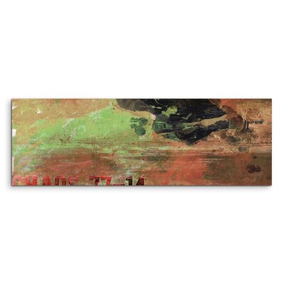 PaulSinusArt Enigma Panorama Abstrakt 670 Painting Print on Canvas