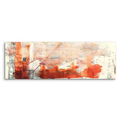 PaulSinusArt Enigma Panorama Abstrakt 827 Painting Print on Canvas