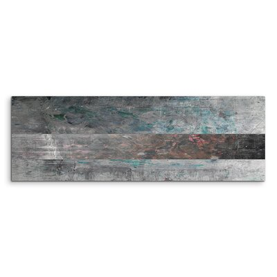 PaulSinusArt Enigma Panorama Abstrakt 672 Painting Print on Canvas