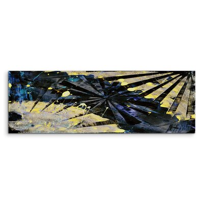 PaulSinusArt Enigma Panorama Abstrakt 828 Painting Print on Canvas