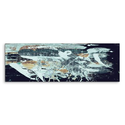 PaulSinusArt Enigma Panorama Abstrakt 830 Painting Print on Canvas