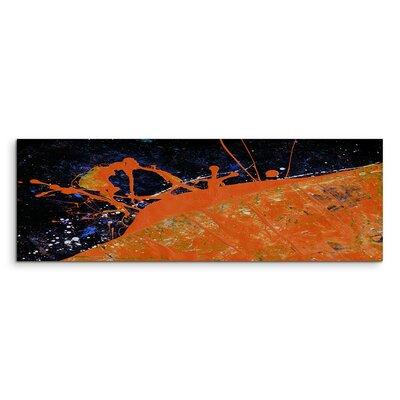 PaulSinusArt Enigma Panorama Abstrakt 675 Painting Print on Canvas