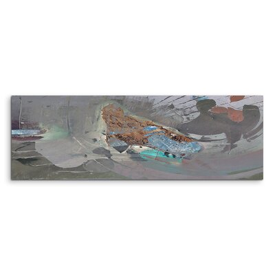 PaulSinusArt Enigma Panorama Abstrakt 836 Painting Print on Canvas