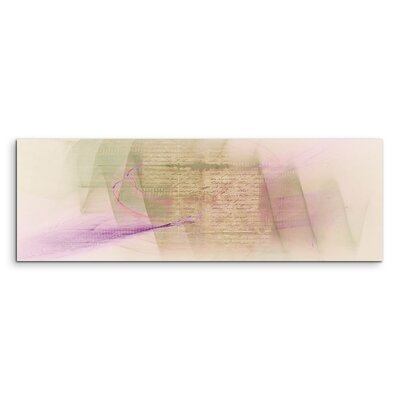 PaulSinusArt Enigma Panorama Abstrakt 1091 Painting Print on Canvas