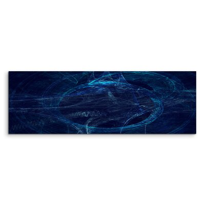 PaulSinusArt Enigma Panorama Abstrakt 1095 Painting Print on Canvas
