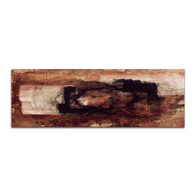PaulSinusArt Enigma Panorama Abstrakt 458 Painting Print on Canvas