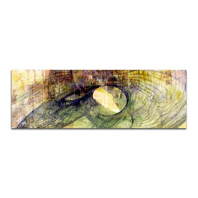 PaulSinusArt Enigma Panorama Abstrakt 459 Painting Print on Canvas