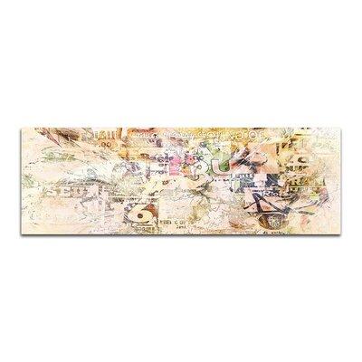 PaulSinusArt Enigma Panorama Abstrakt 461 Painting Print on Canvas